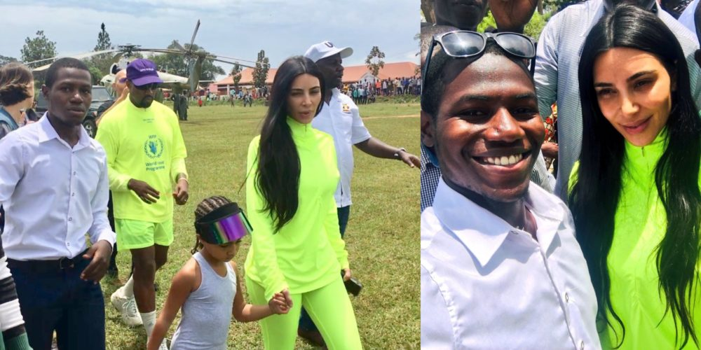 I have made it in Life – Over excited African man boasts after meeting Kim Kardashian & Kanye West (Photos)