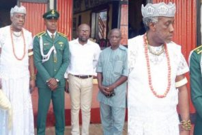 Igwe's son graduates as best student at the Nigerian defence academy (Photos)