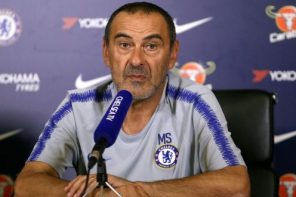 Chelsea vs Manchester United: Check Out What Chelsea's Coach, Maurizio Sarri, Said During Pre Match Conference