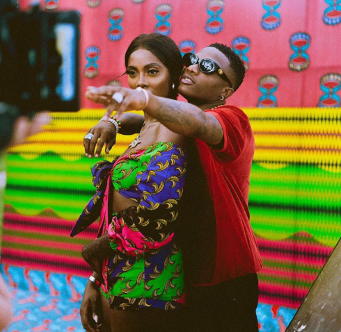 "Let's bring it Home"" – Wizkid supports his ""Best friend"" Tiwa Savage"