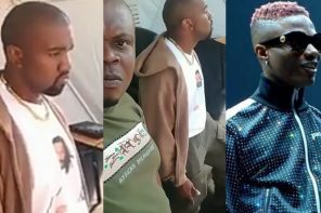 American rappers, Kanye West & Drake Dancing To Wizkid Immediately And Burna Boy Ye in Uganda