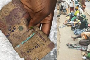 Nigerian makeup artist narrates how a beggar rejected a dirty N100 note she gave him & further requested for a better one