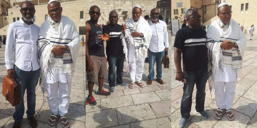 Nigerians react to the sudden re-appearance of Nnamdi Kanu 1 year after going missing