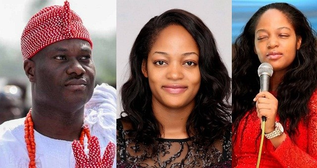 Video of Prophetess Naomi Oluwaseyi – the new bride of Ooni of Ife during her church's 'Hossana Night' in 2017′