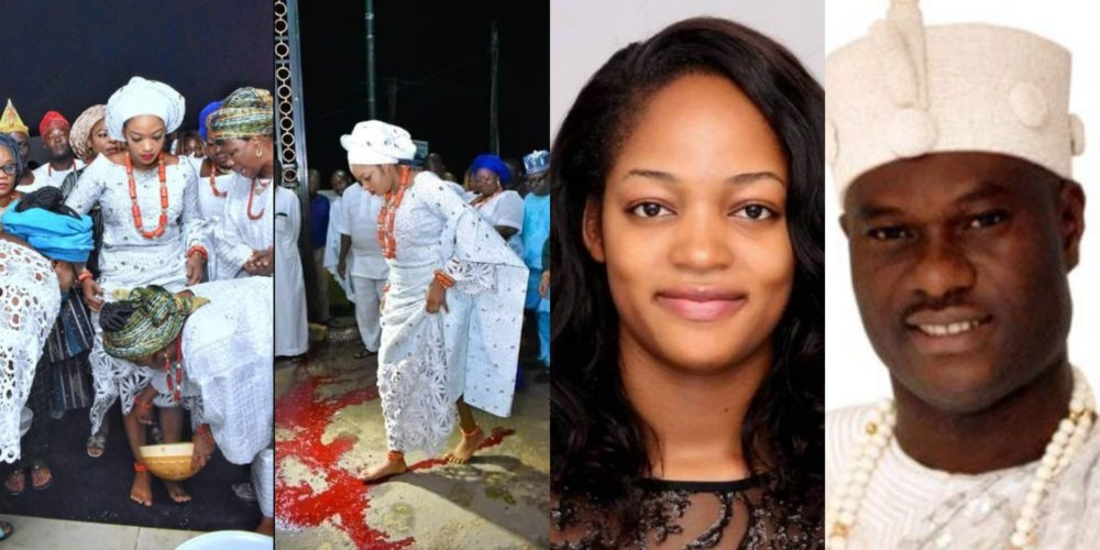 Ooni of Ife gives reasons why he married a prophetess as she crosses over blood