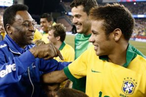 Neymar Breaks Pele's Appearance Record For Brazil, Gets Challenged By Pele To Break His Goal Record Too