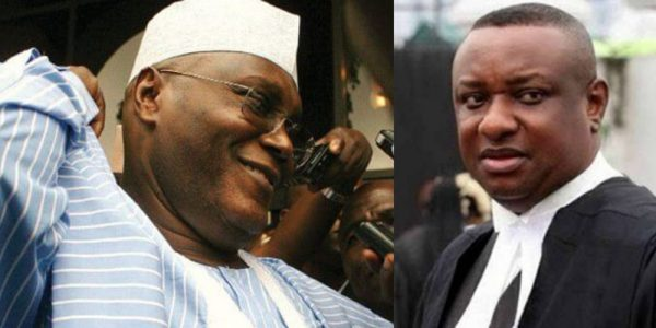 "you made your money illegally festus keyamo to atiku abubakar 600x300 - Audio: It's ""practically impossible"" for former VP to win presidential election unless he rigs – Atiku's spokesperson"