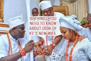 10 Things You Need To Know About Ooni Of Ife's New Wife, Shilekunola Moronke Naomi
