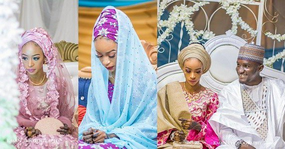 Image result for Nigerian bride looks quite unhappy on her wedding day (Photos)