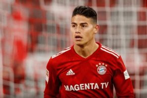 James Rodriguez Out Of Actions For The Remaining Part Of 2018 And Here Is How His Team Mates Are Reacting