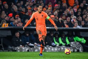 Liverpool Defender, Van Dijk, Drops Lovely message For Team Mates After Landing Netherlands In The Finals