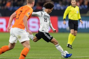 Germany 2 Netherlands 2: Manchester City Winger, Leroy Sane, Rues Missed Chancel