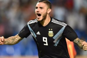 Mauro Icardi Scores First Goal For Argentina With This 'Sweet' Goal To Begin Post Messi Era And Fans Can't Stop Reacting(Video)