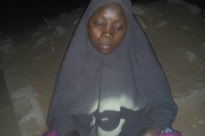 Fresh: Nigerian army captures 19-year-old female suicide bomber in Borno