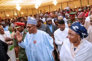 Presidency explains why service chiefs attended Buhari's 'next level' campaign launch