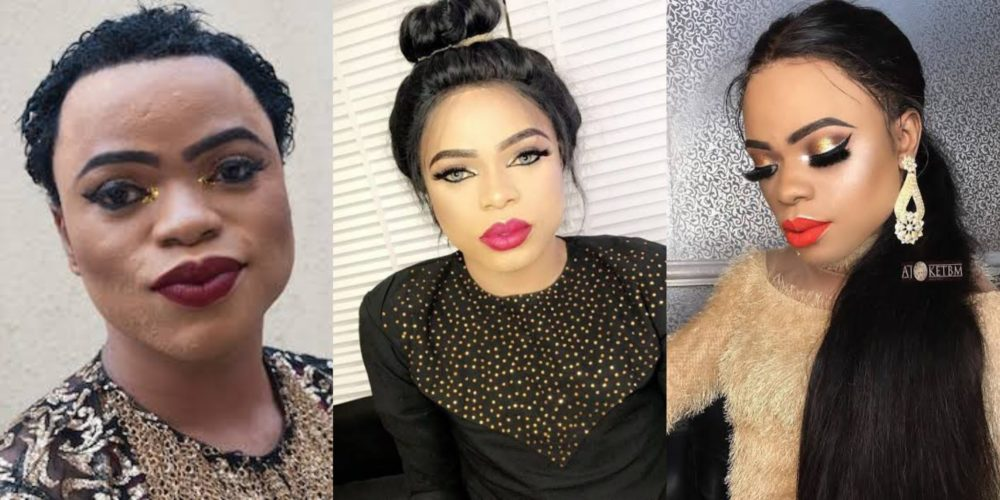 bobrisky speaks about his gender says he s confused as he does not