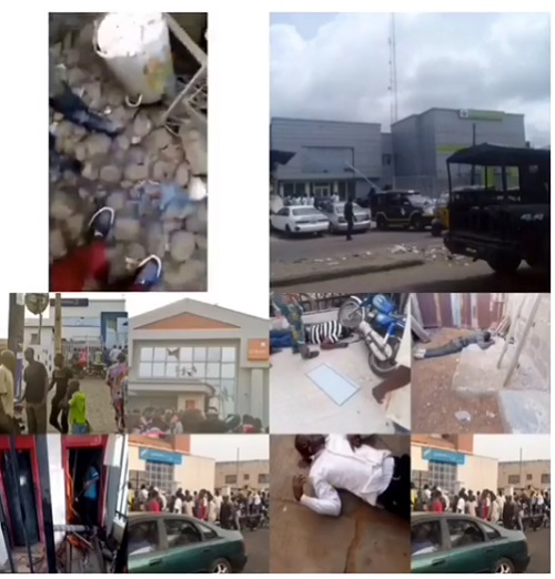 BREAKING News: Police And Residents Stop Armed Robbers From Robbing Banks In Ile-Ife