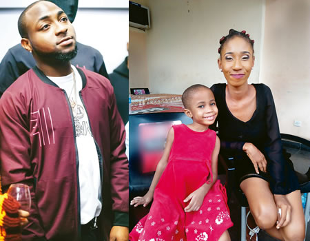 My Daughter Wants To See Her Father, Davido's Alleged Baby