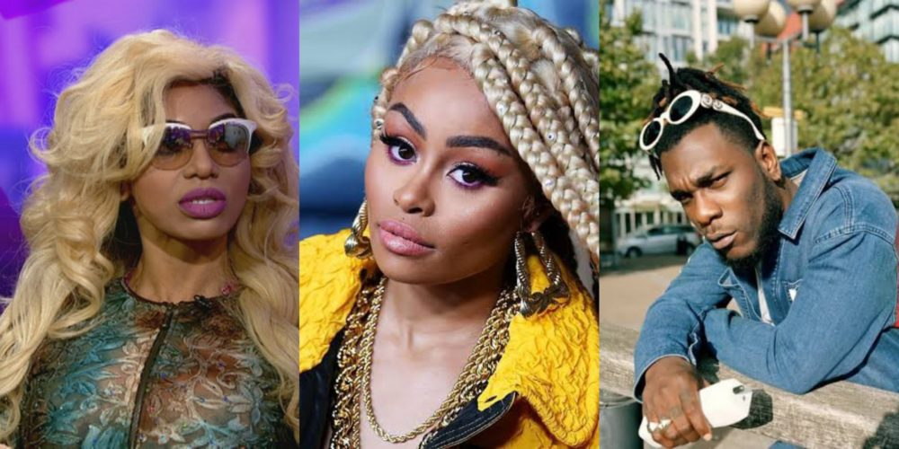 Dencia slams Burna Boy over comment on Blac Chyna's Whitenicious cream