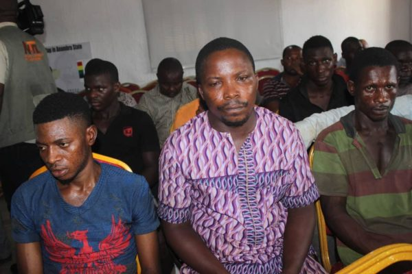 Faces Of IPOB Members Arrested And Charged With Terrorism Over Death Of Police Inspector