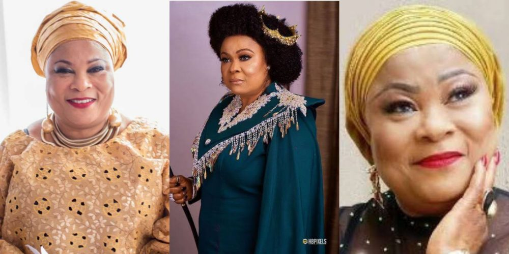 God ordained me to be an actress — Sola Sobowale tells Nigerians