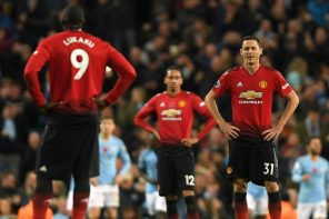 Mancity 3 Manutd 1: Red Devils Equal 16 Years 'Unwanted' Record