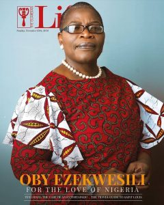 obyezeks 1543139502982 240x300 - Dr. Oby Ezekwesili covers Sunday's editions of The Guardian Life and  ThisDay Style magazines