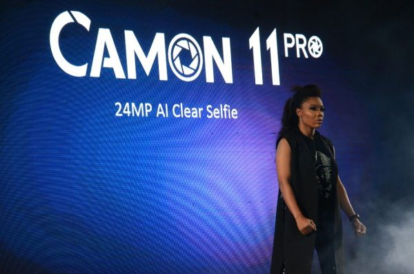 tecno3 600x397 - TECNO MOBILE ANNOUNCES CAMON 11 PRO, 24MP CLEAR SELFIE PHONE WITH AI TECHNOLOGY