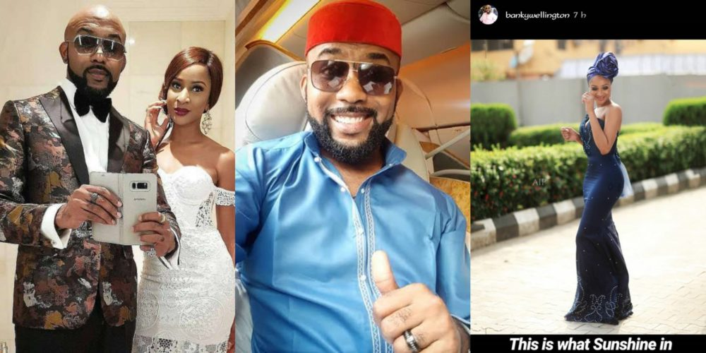 This is what sunshine in human form looks like – Banky W tells his fans as he gushes over his wife (Photo)