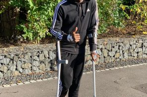 Check Out Dannyl Welbeck's Message To Arsenal Fans After Rupturing His Knee