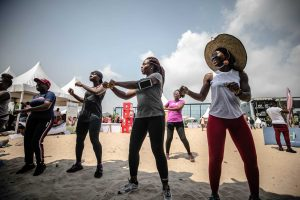 Amstel FFF 159 300x200 - FitFam Fest 2018: Amstel Malta promotes Fun And Excitement For Fitness Lovers In Lagos