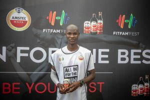 Augustine Azuwuike  300x200 - FitFam Fest 2018: Amstel Malta promotes Fun And Excitement For Fitness Lovers In Lagos
