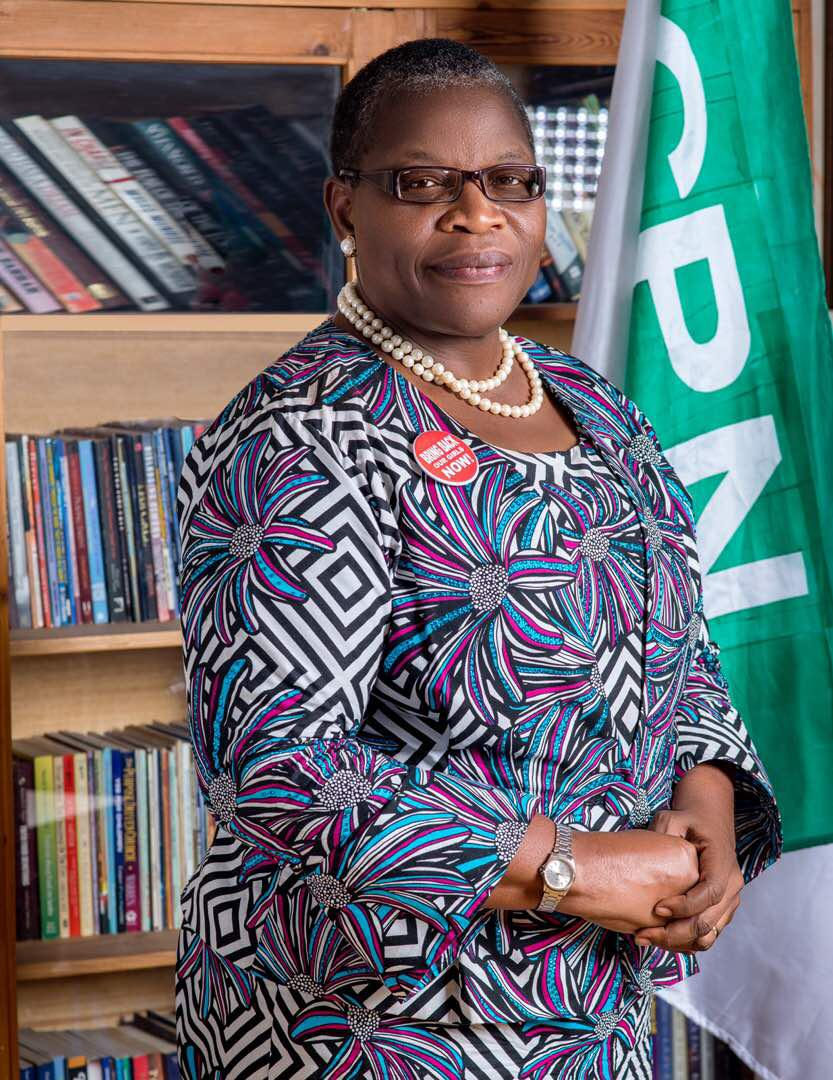 Oby Ezekwesili ACPN - Oby Ezekwesili slams Vanguard newspaper for distorting her message, demands apology