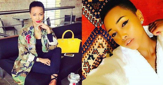 Image result for Never leave your man because he cheated — Huddah Monroe says