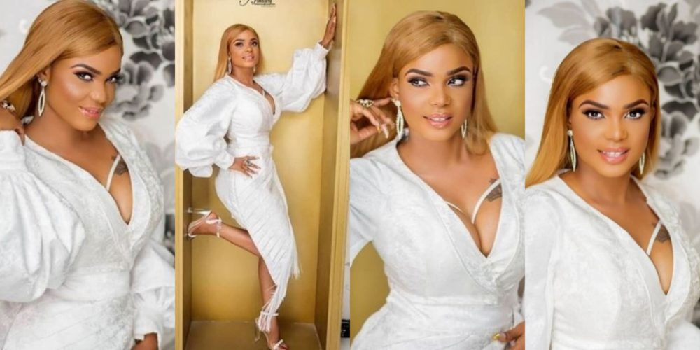 actress iyabo ojo shares stunning new photos to celebrate her 41st birthday - Ever Wonder How To Rock Your Red Clothes??? Then This Lovely Picture From Nollywood Actress, Iyabo Ojo, Might Be All You Need