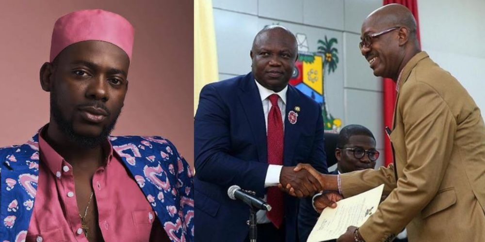 Image result for Ambode Appoints Adekunle Gold's Dad As Permanent Secretary In Lagos
