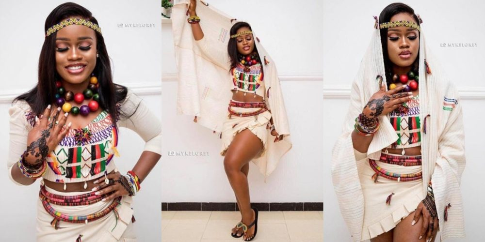 Cee-C steps out looking so gorgeous as she rocks a fulani attire for an event in Lagos