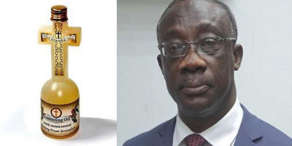 Ghana announces plan to impose tax on anointing oil and other
