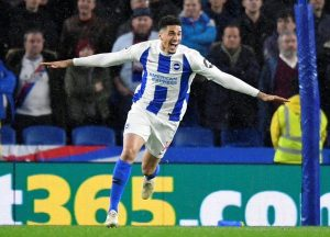 leon balogun celebrates after scoring first premier league goal photos 300x216 - Nigerian International, Leon Balogun, Sends Classy Message To Fans After His Team Ended The Year With Three Points By Defeating Everton