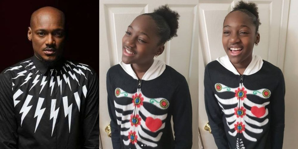 Image result for Meet Ehi Idibia, 2face daughter with Pero Adeniyi who looks a lot like him. (PHOTOS)