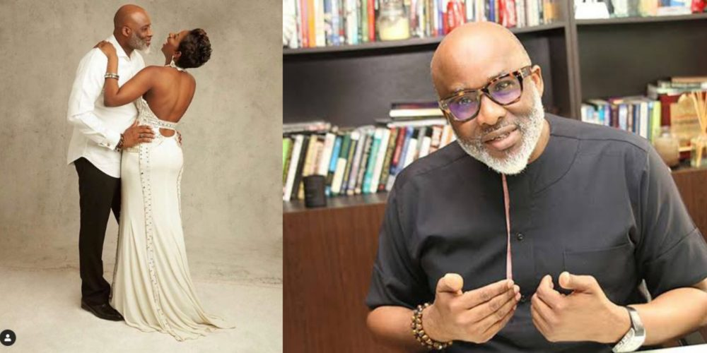 Popular Life Coach, Lanre Olusola & his beautiful wife celebrate 19th wedding Anniversary (Photos)