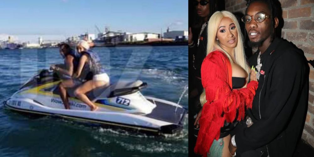 Rapper Cardi B Her Husband Offset Vacation Together In Puerto Rico