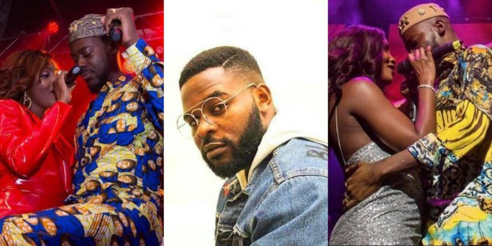 Image result for Falz reacts to Simi and Adekunle Gold wedding