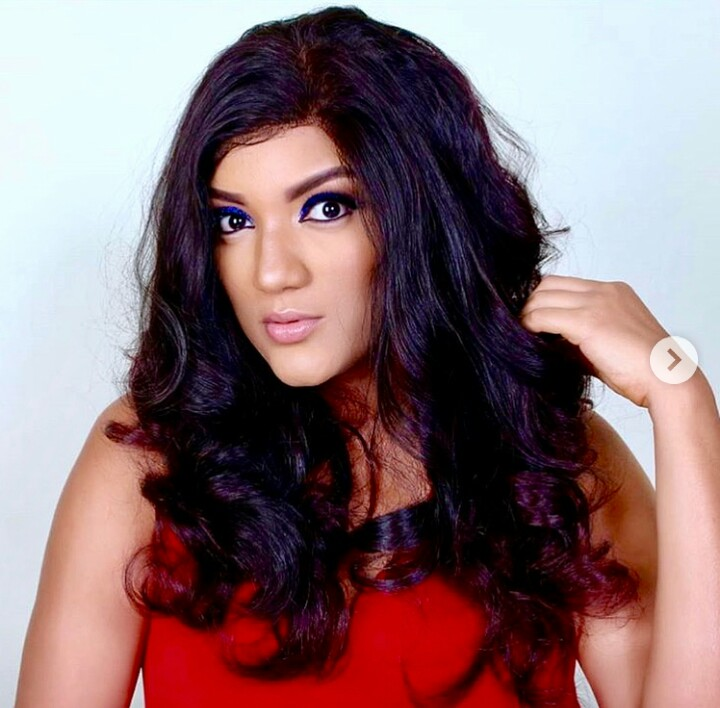 Gifty shares sultry photo of herself completely naked in bed
