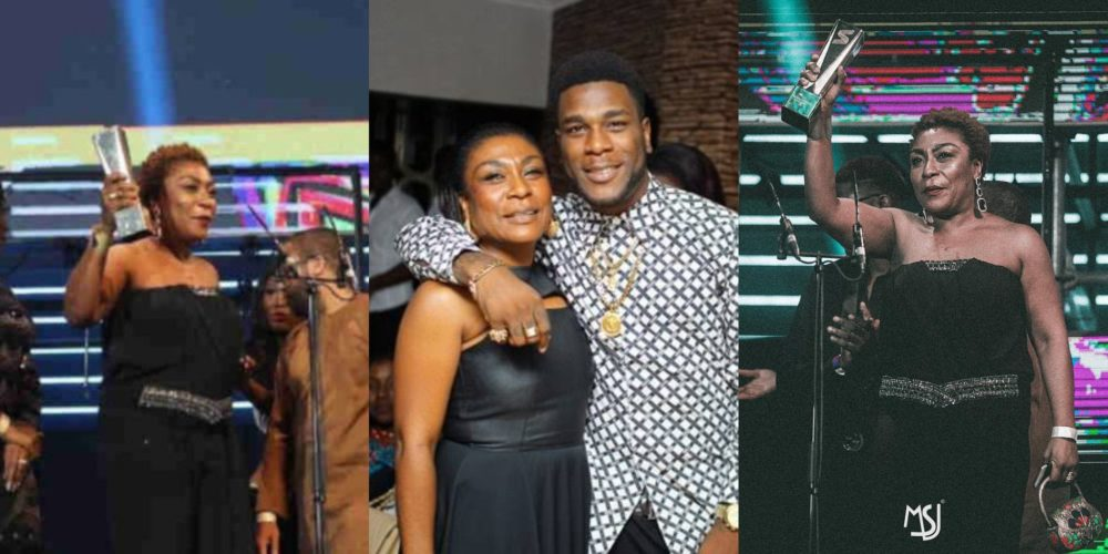 Mama Burna Boy steals the show at the 2019 Soundcity MVP