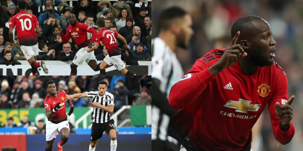Manchester United destroy Newcastle in tough Premier League clash at St James Park