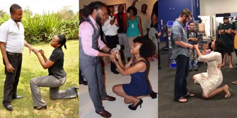 Image result for Nigerians React To The New Trend Of Women Proposing To Men. (Details)