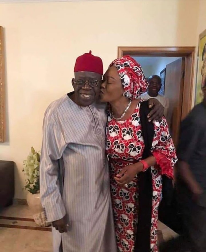 Forget politics, Tinubu also celebrated Valentine
