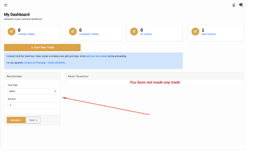 Screenshot 7 - How Much Can You Sell Gift Cards in Naira – Best Rates At Cardnosh