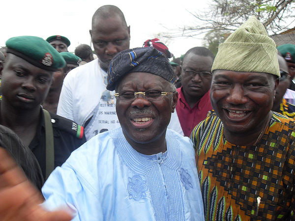 Bode George Released Amidst Fanfare